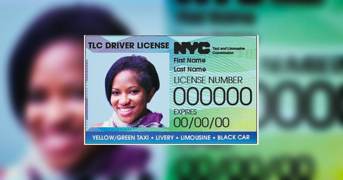 NYC driver licence
