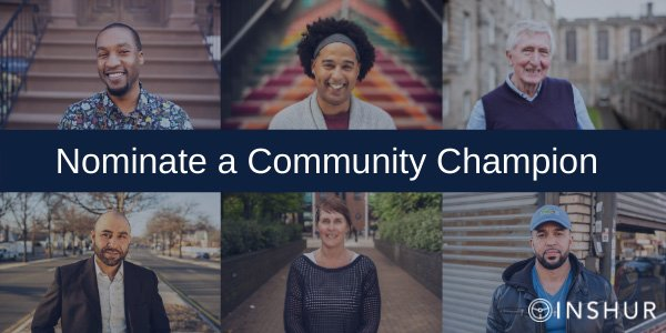 Nominate a community champion